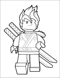 LEGO Ninjago Coloring Page - Kai - The Brick Show
