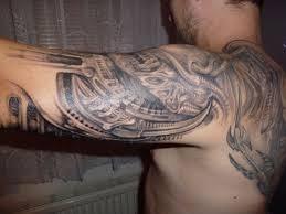 Tak Tohle Je Tetování Biomechanika Na Motivy Hrgigera Midian