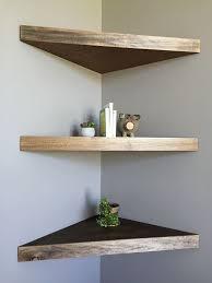 Individual Corner Shelves