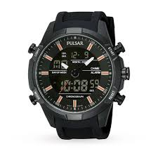 mens pulsar sport alarm chronograph watch mens watches watches mens pulsar sport alarm chronograph watch