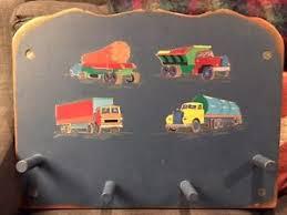Land Of Nod Coat Rack VTG Child's Handcrafted Wood Coat Rack Peg Board from Land of Nod 35