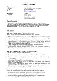 Sample Resume For It Professional Latest Cv Templates Doc