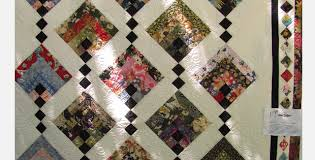 Japanese Fabric Chain Quilt That Dangles The Quilt Blocks ... & Hanging Gardens quilt Japanese fabric Adamdwight.com