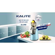 Máy ép chậm Kalite KL 598, ép rau củ quả kiệt và êm - Hàng chính hãng - Máy  ép trái cây Nhà sản xuất KALITE