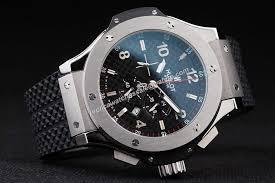 hublot big bang 44mm chronograph men silver steel date red hand hublot big bang 44mm chronograph men silver steel date red hand watch hub050