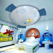 kids bedroom lighting. Kids Bedroom Lighting Fixtures Brilliant Plane Shaped 3 Light Glass Shade Room Ceiling Within