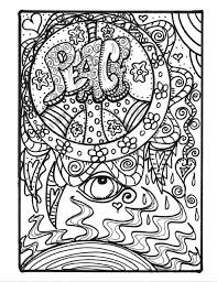 Small Picture FREE COLORING PAGES FOR ADULTS 8 Funky Pictures From Hippie Folk