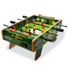 Miniature Wooden Foosball Table Game Crown Children's Toys Table Football Game Mini Table Soccer Game 73