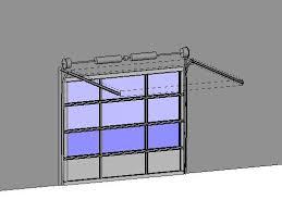 clopay commercial sectional overhead garage door model 902