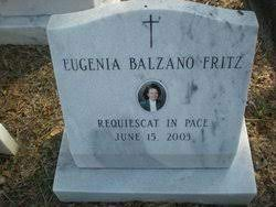 Eugenia Blazano Fritz (1927-2003) - Find A Grave Memorial