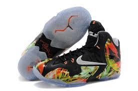 lebron basketball shoes youth. cheap lebron 11 kids kings black orange green basketball shoes youth ;