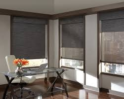 office drapes. both aesthetic and practical a home office that offers privacy or view with dash drapes r
