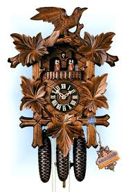 bird sound chime wall clock hones 8600 5tnu 19h five leaves bird traditional angry birds wall