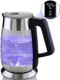 ovente glass electric kettle fast boiling with temperature control and keep war