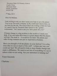 some amazing writing thornton dale school blog charlotte s persuasive letter
