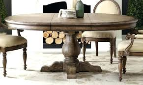 60 round dining room table round dining tables with leaves table pedestal inch leaf