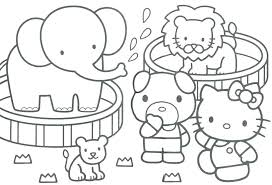 Printable Coloring Pages Hello Kitty Keralapscgov