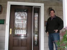 fiberglass doors added to fifth generation home