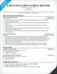 Assistant Chef Resumes Chef Resumes Examples Emelcotest Com