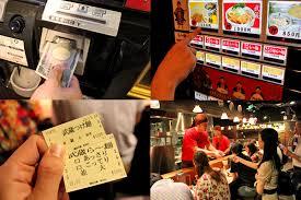 Ramen Vending Machine Tokyo New Menya Musashi 麺屋武蔵 Must Try Ramen At Shinjuku Tokyo How To