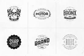Templates For Logo Retro Logo Templates V 03