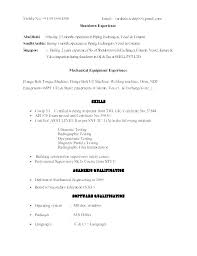 Professional Resume Format Examples Impressive Free Professional Resume Format Packed With Oracle Resume Format