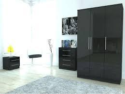 Black Bedroom Cabinets Attractive Black Gloss Bedroom Furniture Black Gloss  And Walnut Black And White Bedroom
