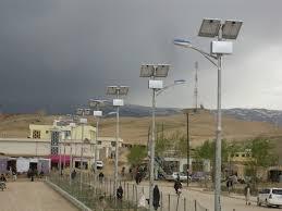 solar power led street light for ghor