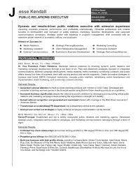 Pr Resume Examples Best Pr Resumes Resume Examples Skills 60 Best Public Relations Pr 5