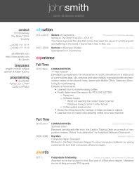 Latex CV Template