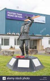 office space exeter. Battle Of Britain Hurricane Fighter Pilot Statue Outside Airport House Office Space And Hanger 3 At Exeter