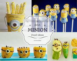 Minion Food Ideas