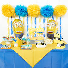 Diy Minions Party Ideas | Birthday Express within Minion Table Decorations