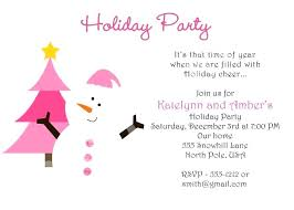 Company Christmas Party Invite Template Christian Party Invitation Templates Company Holiday Free Corporate
