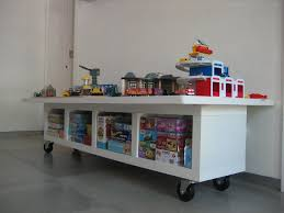 Sterling Four Casters As Well As Kids Craft Table Ideas Plus Toys Storage  And Movable Finish