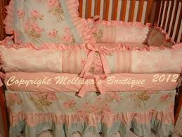 simply shabby chic baby bedding design ideas