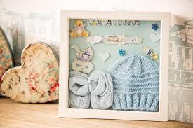 Box Picture Frame Newborn Boy Memory Box Frame