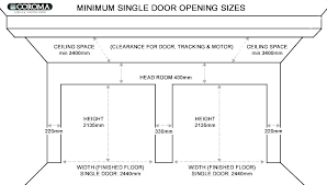 size of two car garage single door average 2 dimensions standard dimensio
