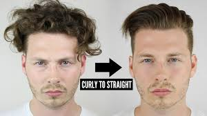 Curly Hair Style Man mens curly to straight hair tutorial how to style curly hair 2838 by wearticles.com