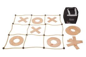 Wooden Naughts And Crosses Game Uber Wooden Noughts and Crosses Yardgames New Zealand 63