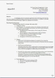 Resume Format For Indian Engineering Students Sample Document Resumes