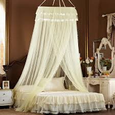 queen size canopy bed net hung dome mosquito net for adult bed ...