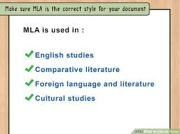 The MLA International Bibliography and JSTOR   Citing