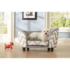 small dog furniture. Top Enchanted Home Pet Chevron Snuggle Bed Co In Dog Furniture Small V
