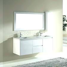 modern bathroom vanities white vanity small double sink whit