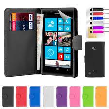 Nokia Lumia 720 PU Leather Book Wallet ...