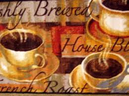 kitchen kitchen rugs with coffee cups on them coffee themed wall art coffee themed rugs
