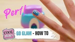 cool maker go glam nail ster how