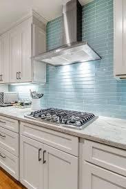 Kitchen Backsplash Glass Tile Kitchen Charming Kitchen Backsplash Gallery Pictures With Blue