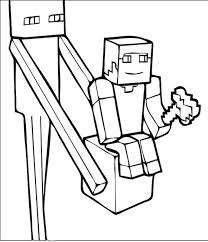 Minecraft 65 Video Games Printable Coloring Pages